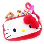 Hello Kitty Multipurpose Face Pouch - Red